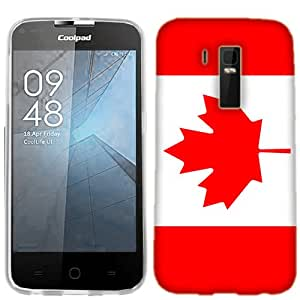 Coolpad Rogue Case, Canada Flag Cover for Coolpad Rogue Phone