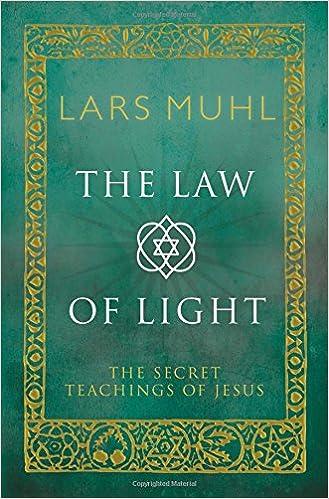 The law of light the secret teachings of jesus lars muhl the law of light the secret teachings of jesus lars muhl 9781780288321 amazon books fandeluxe Choice Image