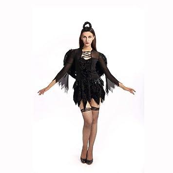 Olydmsky Disfraz Disfraces Halloween Traje de Bruja de ...