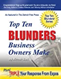 Top Ten Blunders Business Owners Make