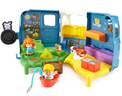 51 XBFbFiqL - Fisher-Price Little People Songs & Sounds Camper