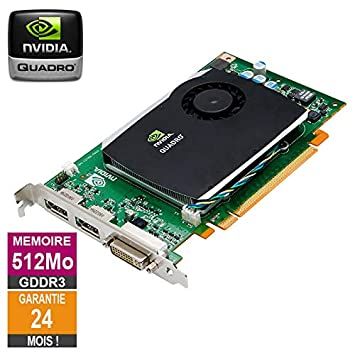 Tarjeta gráfica Nvidia Quadro FX 580 512MB GDDR3 PCI-e DVI ...