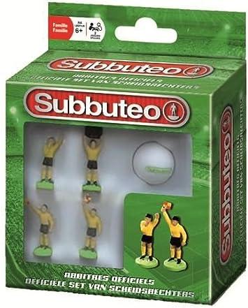 Megableu 678304 Subbuteo - Árbitros: Amazon.es: Juguetes y juegos
