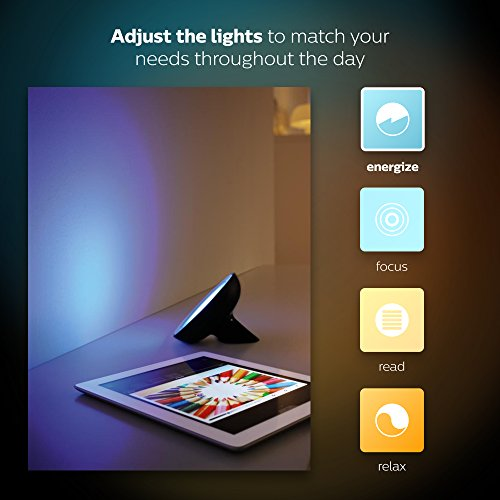 Philips Hue Bloom Dimmable LED Smart Table Lamp (Requires Hue Hub, Works with Amazon Alexa, Apple HomeKitand Google Assistant) by Philips LED (Image #7)