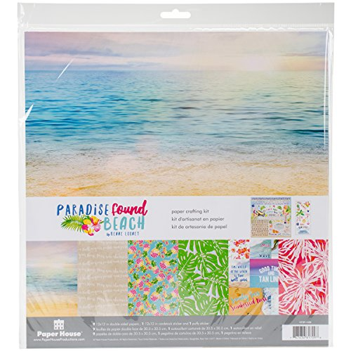 (Paper House Productions Paradise Found Paper Craft Product)