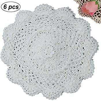 Lace, Crochet & Doilies Lot 5 Antique Lace Items A Great Variety Of Models
