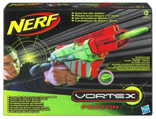 Nerf Vortex Quick Fire Disc Blaster Proton 32214