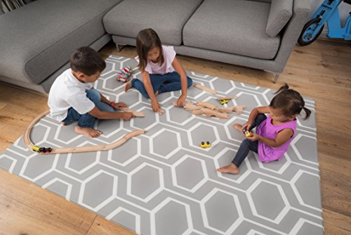 Tregolden Baby Play Mat - For Babies, Toddlers and Kids - Protect Your Child With This Stylish Soft Play Rug - Attractive, Modern and Sophisticated Design - Tested to Rigorous Safety Standards (Room Rugs For Memory Foam Living)