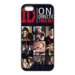 Rock Band One Direction Custom Cover Case with Hard Shell Protection for iPhone 5/5s