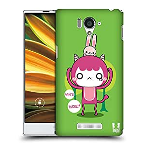 Head Case Designs Sugar Kawaii Monsters Protective Snap-on Hard Back Case Cover for Sharp Aquos Serie SHL25 LTE