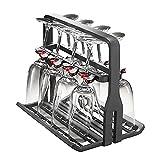 8 wine glass rack - AEG Universal Wine Glass Basket Rack Fits Miele Dishwasher (8 Glasses)