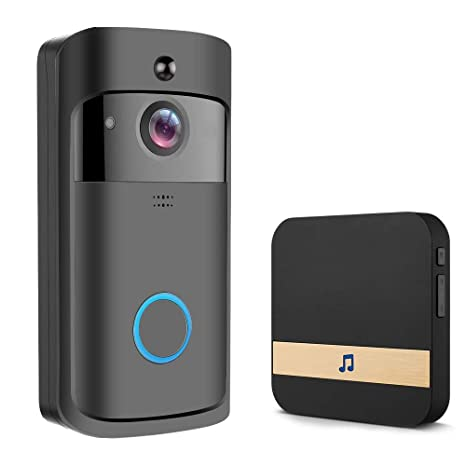 DYHM Timbre WiFi Video Timbre Negro Smart IP Video ...