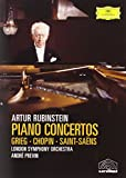 Grieg, Chopin & Saint Saens Piano Concertos / Previn, Rubinstein, London Symphony Orchestra