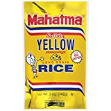 Mahatma Saffron Yellow Rice Mix, 5-Ounce (Pack of 12)