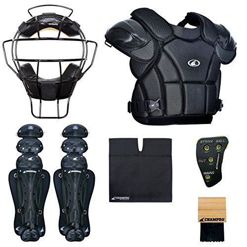 Champro Sports Varsity Umpire KIT-BLACK Black by CHAMPRO