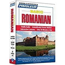 Pimsleur Romanian Basic Course - Level 1 Lessons 1-10 CD: Learn to Speak and Understand Romanian with Pimsleur Language Programs