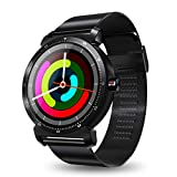 Cywulin Smart Watch Fitness Tracker, Touchscreen Activity Tracking Multi-Function Bracelet Waterproof with Heart Rate Sleep Monitor, Calorie, Pedometer for iPhone iOS Android Kids Men Women (Black)