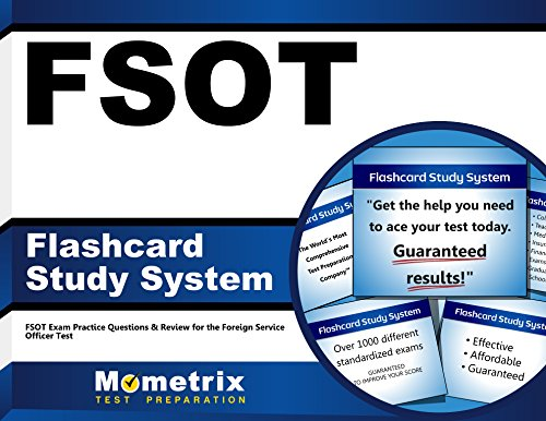 FSOT Flashcard Study System: FSOT Exam Practice Questions & Review for the Foreign Service Officer Test (Cards)