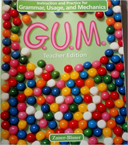 Book G.U.M.: Instruction and Practice for Grammar, Usage, and Mechanics : Level C Grade 5 (1996-06-24)