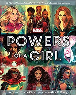 Amazon com: Marvel Powers of a Girl (9781368025263