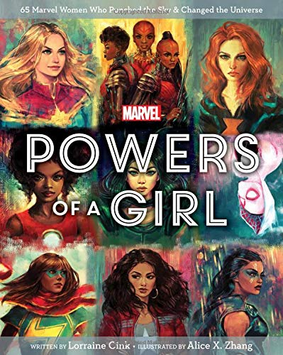 Marvel Powers of a Girl -