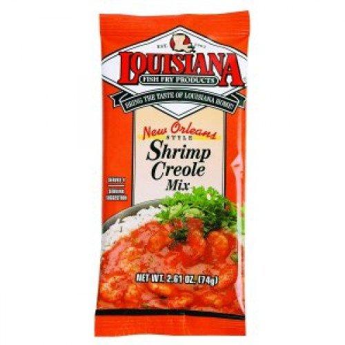 Louisiana Mix Shrimp Creole, 2.61 oz - Louisiana Shrimp Creole
