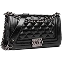 Women Leather Chain Crossbody Bag Ladies HandBag