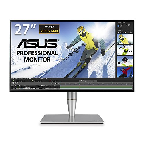 ASUS PA27AC Business Professional Monitor WLED/IPS 27 inches, 2560 x 1440 pixels, Gray