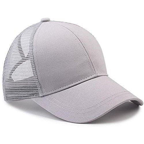 Free Ship Deal Ponytail Baseball Cap (Grey)