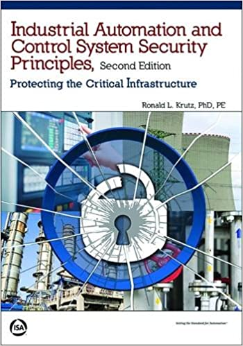 Book Industrial Automation and Control System Security Principles