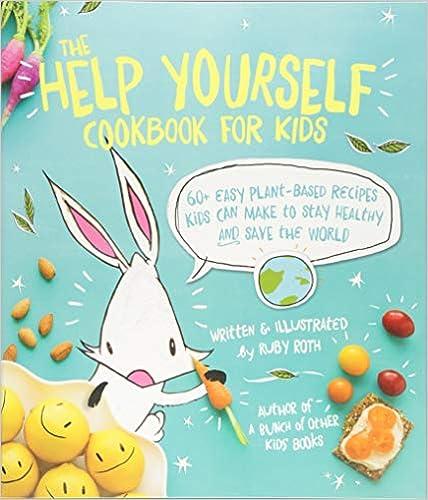 Top Vegan Children Books help yourself plant-based cookbook