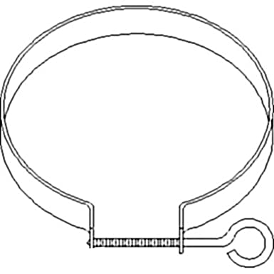 Amazon Com 311508 New Air Cleaner Clamp Made To Fit Case Ih Tractor