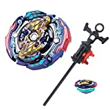 Bey Burst Blade Battling Top Battle Gyro B-142 Booster Judgement Joker .00T.Tr Zan Starter Spinning Top Launcher with L/R Spinning Toy Set for Kids Boys 6 7 8 9 10 11 12+ Years Old