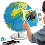Orboot Earth by PlayShifu (App Based): Augmented Reality Interactive Globe for Kids, Stem Toy for Boys & G