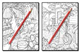 Country Farm Coloring Book: An Adult Coloring