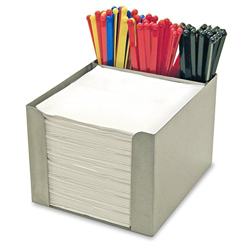 Co-Rect Stainless Steel Square Napkin Holder, 6.5'' by 5'' by 3.5'', Chrome by Co-Rect