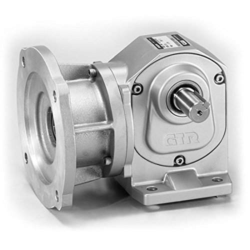 NEMA 56C Gear Reducer - Right-Angle Solid Shaft (Nema 56c Motors)