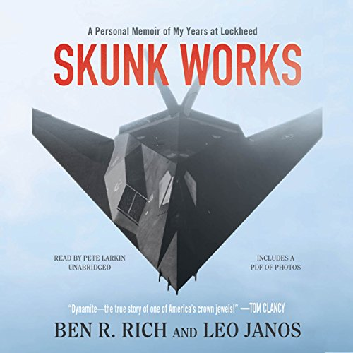 Skunk Works: A Personal Memoir of My Years of Lockheed Audiobook [Free Download by Trial] thumbnail