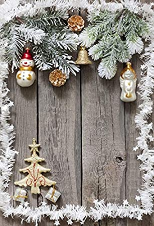 7x10 FT Christmas Vinyl Photography Backdrop,Vibrant Celebration Design Festive Traditional Special Event Preparations Theme Background for Baby Birthday Party Wedding Studio Props Photography