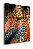 Ashley Canvas Statue Of Guru Padmasambhava Hemis Gompa Ladakh India, Kitchen Bedroom Living Room Art, Color 30x24, AG5263840