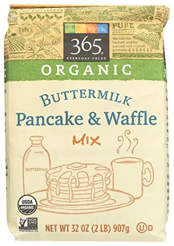 365 Everyday Value, Organic Buttermilk Pancake & Waffle Mix, 32 oz