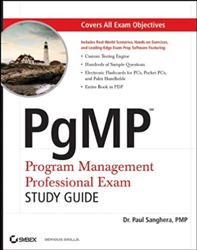 amazon com pgmp program management professional exam study guide rh amazon com PMBOK Chart PMBOK 5th Edition Knowledge Areas Chart
