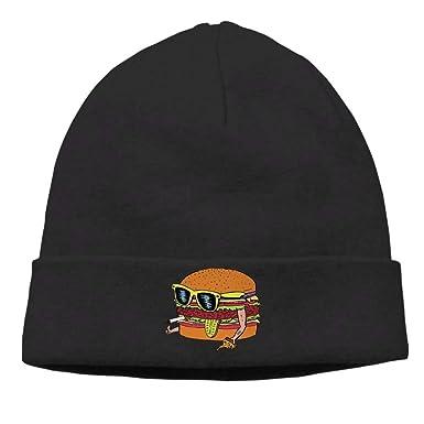 Mens Dope Burger Classic Jogging Black Beanies Cap Hat: Amazon.es ...
