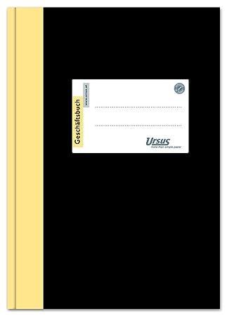 96 Blatt 9 mm liniert Ursus 608352 Gesch/äftsbuch 2921B96L A4 80 g//qm