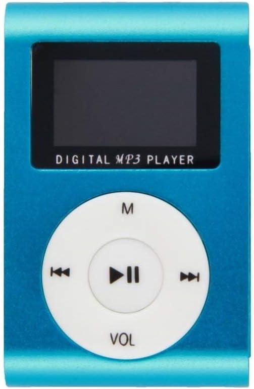 portatile in metallo Clip Music Player MP3 Mini Media Music Player Moda 2-16GB Mp3 Mp4 Player 1.8 Supporto TF Card