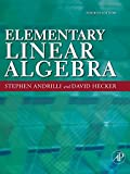 img - for Elementary Linear Algebra, Fourth Edition book / textbook / text book
