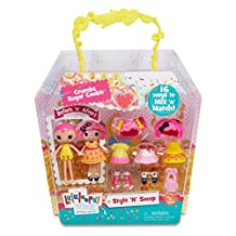 Lalaloopsy 541325 Mini Style 'N' Swap Doll-Crumbs Sugar Cookie Doll