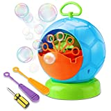 Best Bubble Machines - Bubble Machine, Fansteck Durable Portable Bubble Blower, Automatic Review
