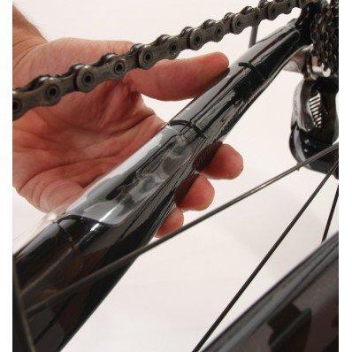 Rahmenschutzfolie Shelter, Effekt  Mariposa, für Geländefahrräder, Stärke 1,2 mm