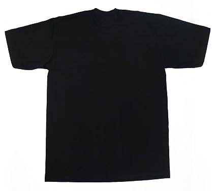 Amazon.com: Pro Club Heavyweight T-Shirt XL-TALL Black (Various ...